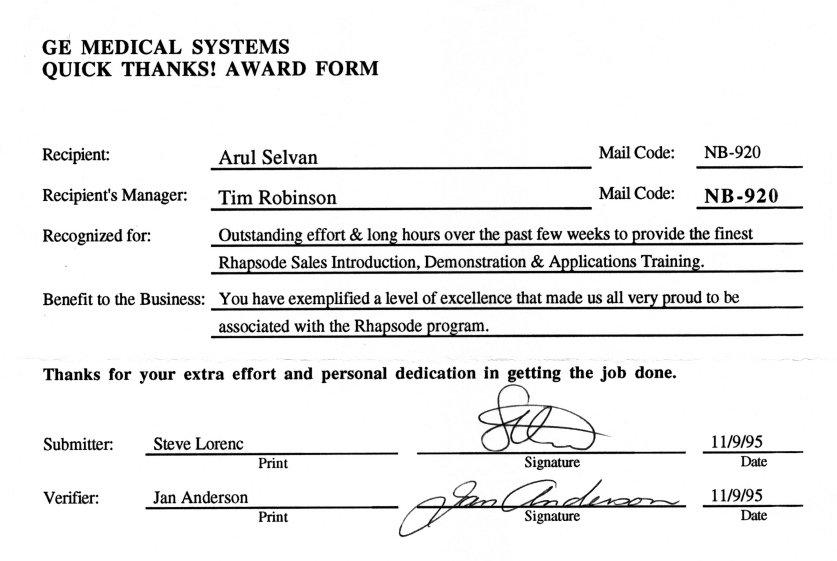 Arul Selvan's Resume - Vice President, Software Engineering